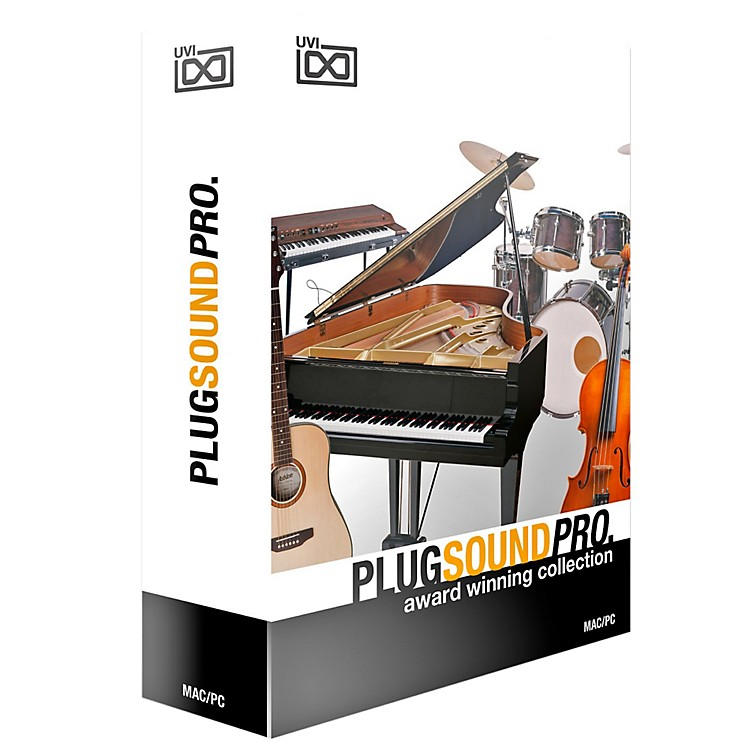 UVI PlugSound Pro Music Store in a Box Software Download Software Download