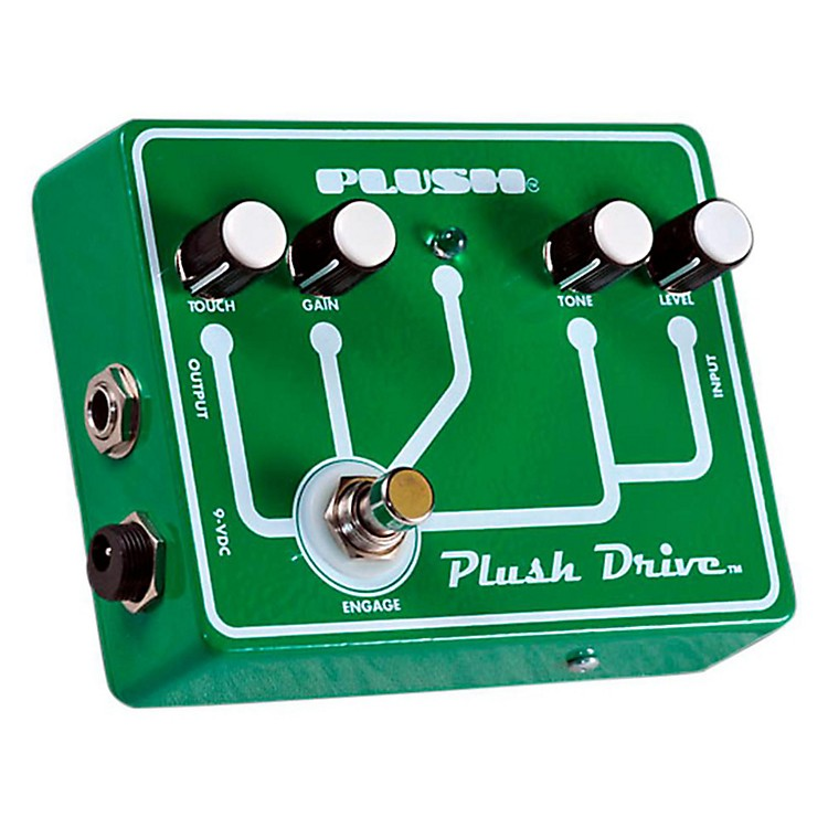 Plush Plush Drive Overdrive Guitar Effects Pedal