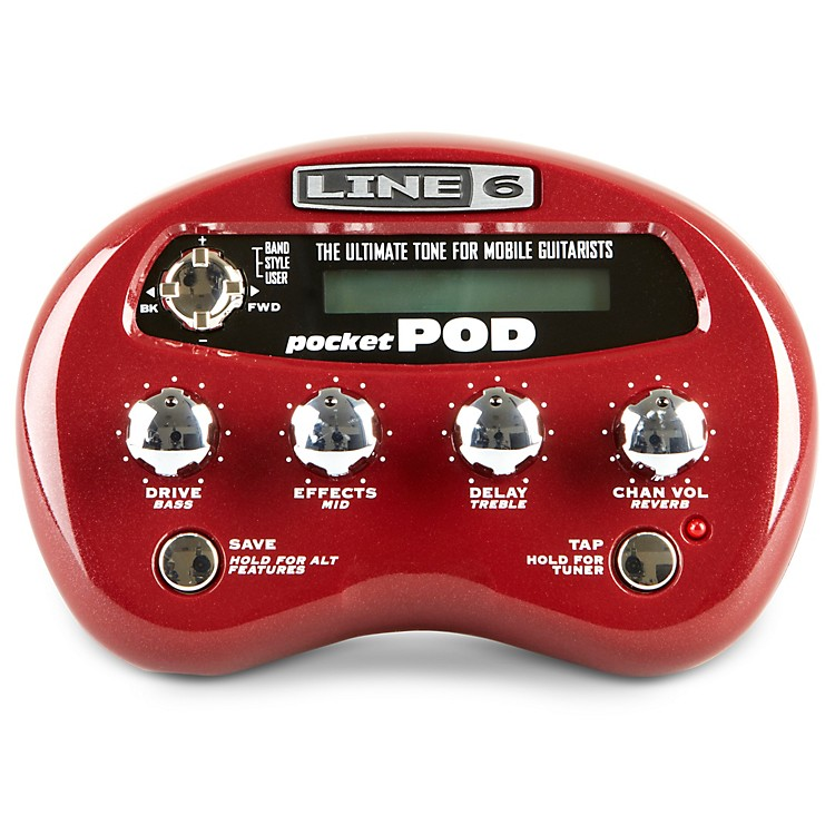 Line 6Pocket POD Guitar Multi-Effects Processor
