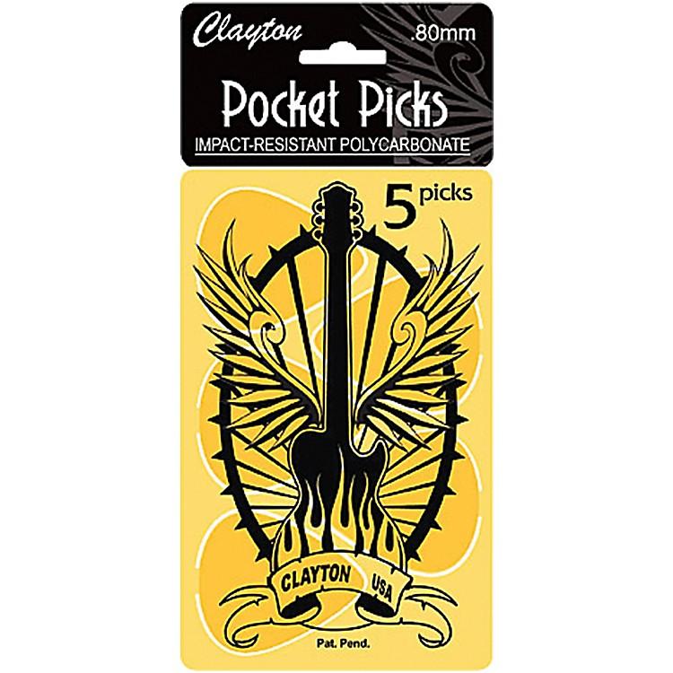 ClaytonPocket Picks Guitar Pick Card