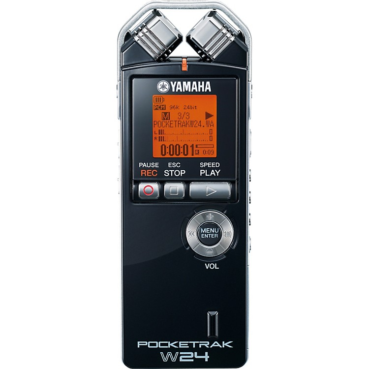 Yamaha PocketTrak W24 2GB Pocket Recorder