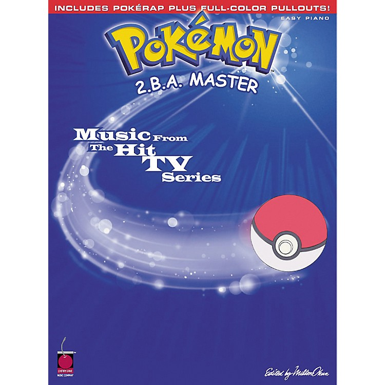 Cherry Lane Pokemon 2.B.A. Master For Easy Piano