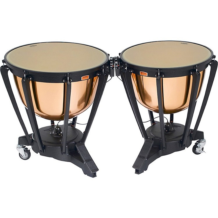 Yamaha Polished Copper Symphonic Timpani Set  26
