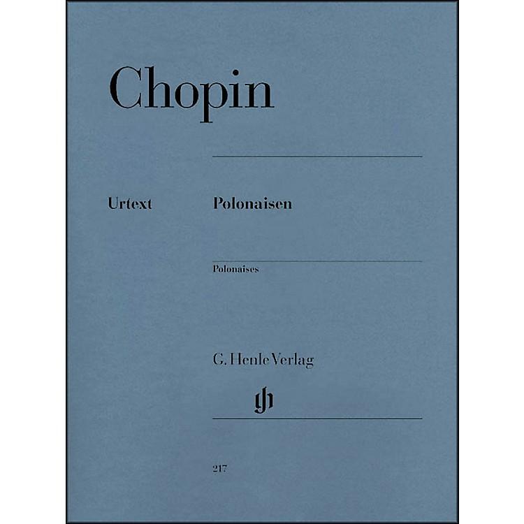 G. Henle VerlagPolonaises By Chopin / Zimmermann