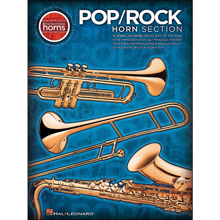 Hal Leonard Pop / Rock Horn Section Transcribed Horns