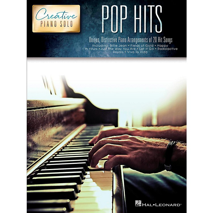 Hal Leonard Pop Hits - Creative Piano Solo Songbook
