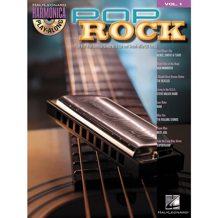 Hal LeonardPop Rock - Harmonica Play-Along Series, Volume 1 (Book/CD)