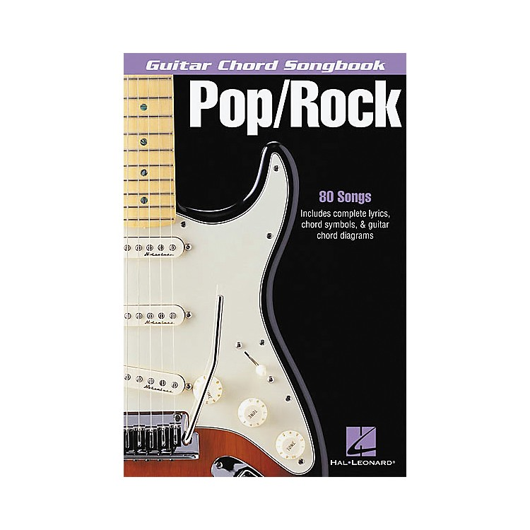 Hal Leonard Pop/Rock Guitar Chord Songbook