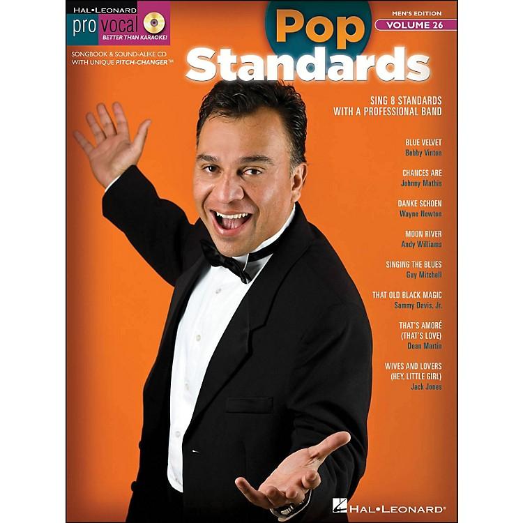 Hal LeonardPop Standards - Pro Vocal Songbook & CD for Male Singers Volume 26