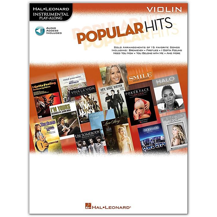 Hal LeonardPopular Hits For Violin - Instrumental Play-Along Book/CD