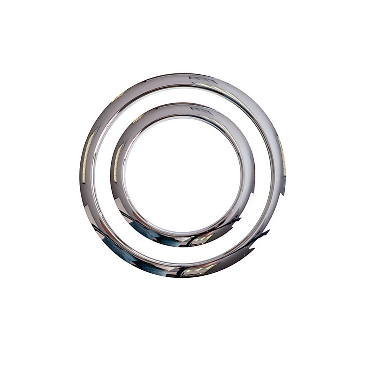Gibraltar Port Hole Protector Chrome 6 Inch