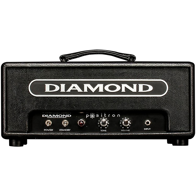 Diamond Amplification Positron Vanguard Series 18W Tube Guitar Amp Head Black