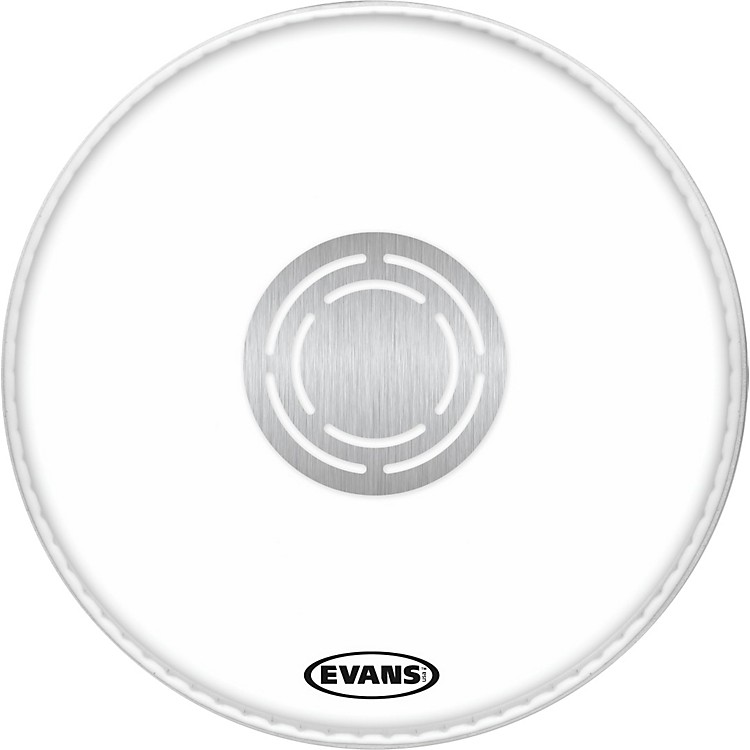 EvansPower Center Clear Batter Drumhead15 Inch