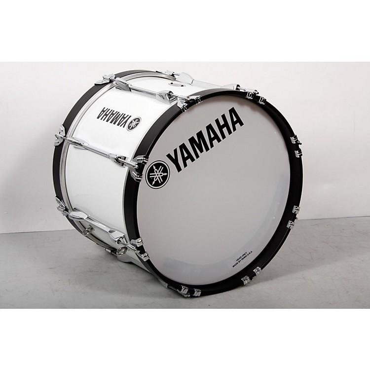 YamahaPower-Lite Marching Bass DrumWhite Wrap, 18x13888365854816