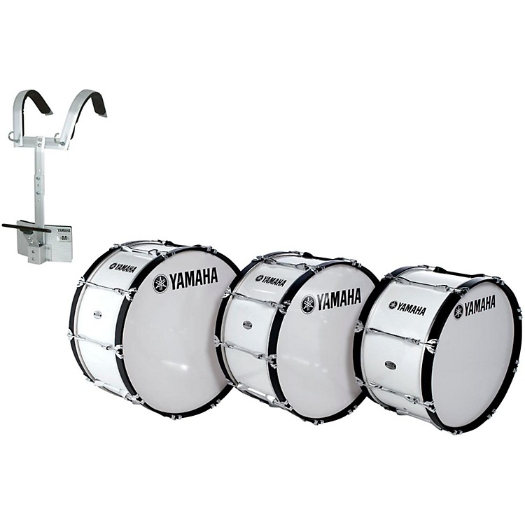 YamahaPower-Lite Marching Bass Drum with Carrier