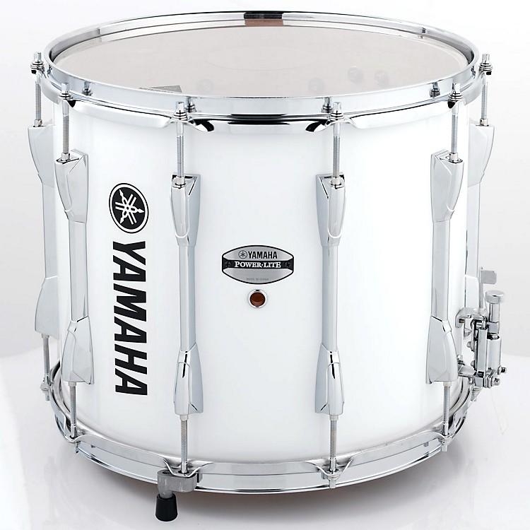 YamahaPower-Lite Marching Snare DrumWhite Wrap14 Inch