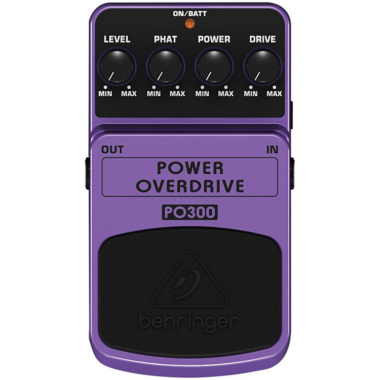 BehringerPower Overdrive PO300 Guitar Effects Pedal