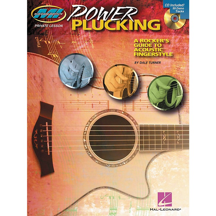 Hal LeonardPower Plucking - A Rocker's Guide to Acoustic Fingerstyle Guitar - Book/CD
