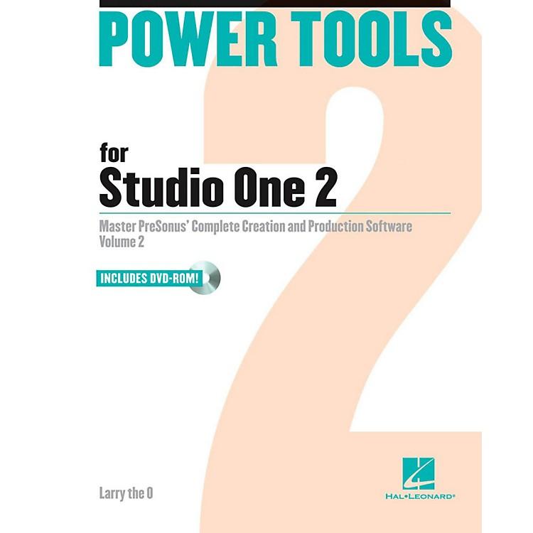 Hal LeonardPower Tools For Studio One 2 Book/DVD-ROM