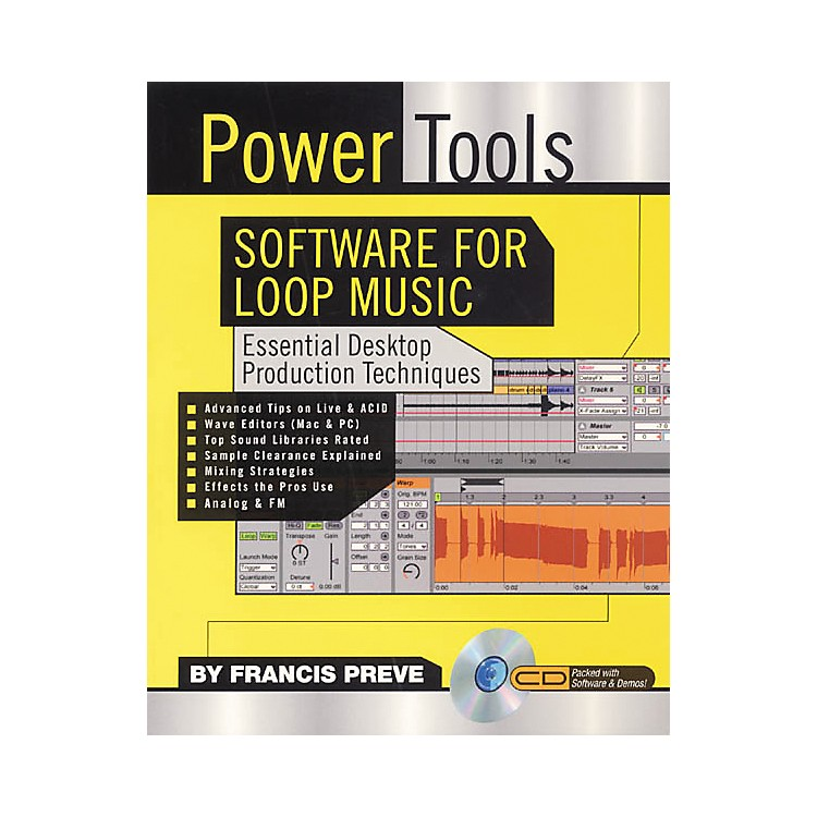 Backbeat BooksPower Tools Software for Loop Music (Book/CD-ROM)