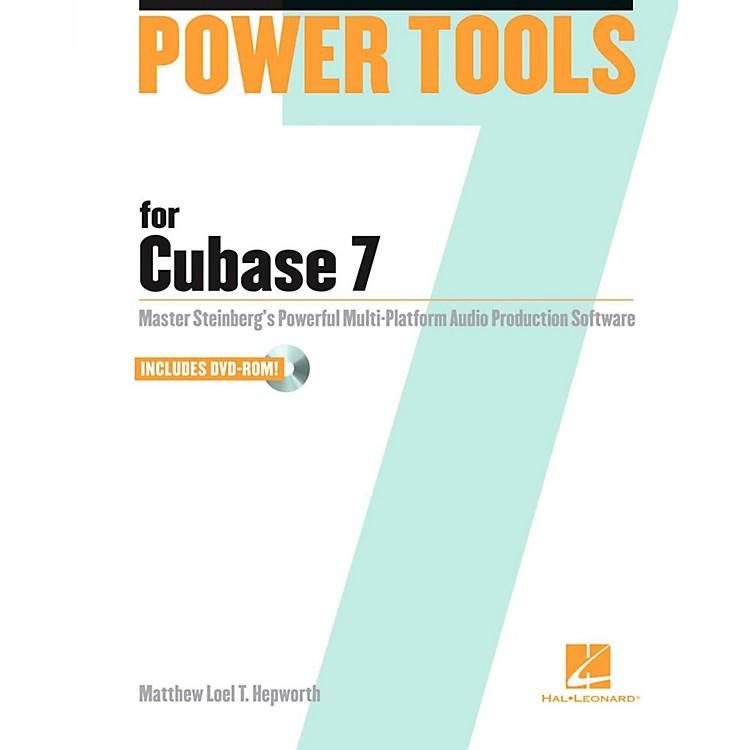 Hal LeonardPower Tools for Cubase 7 Book/DVD-ROM