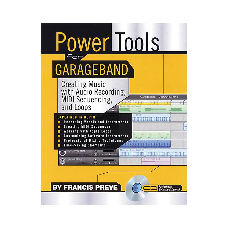 Backbeat Books Power Tools for GarageBand (CD-ROM)
