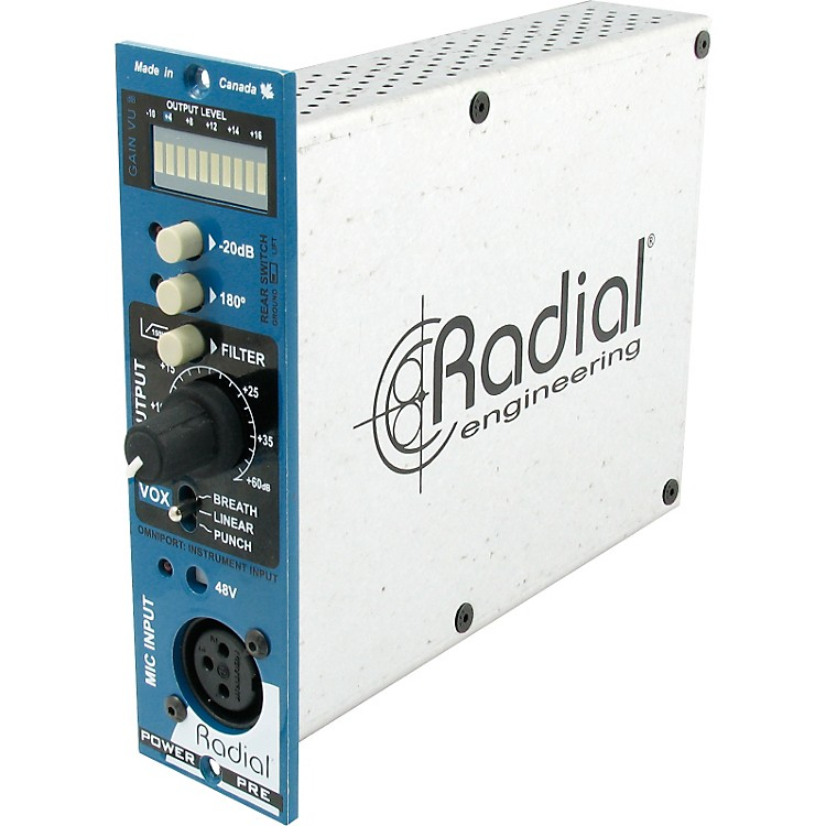 Radial Engineering PowerPre Mic Preamplifier