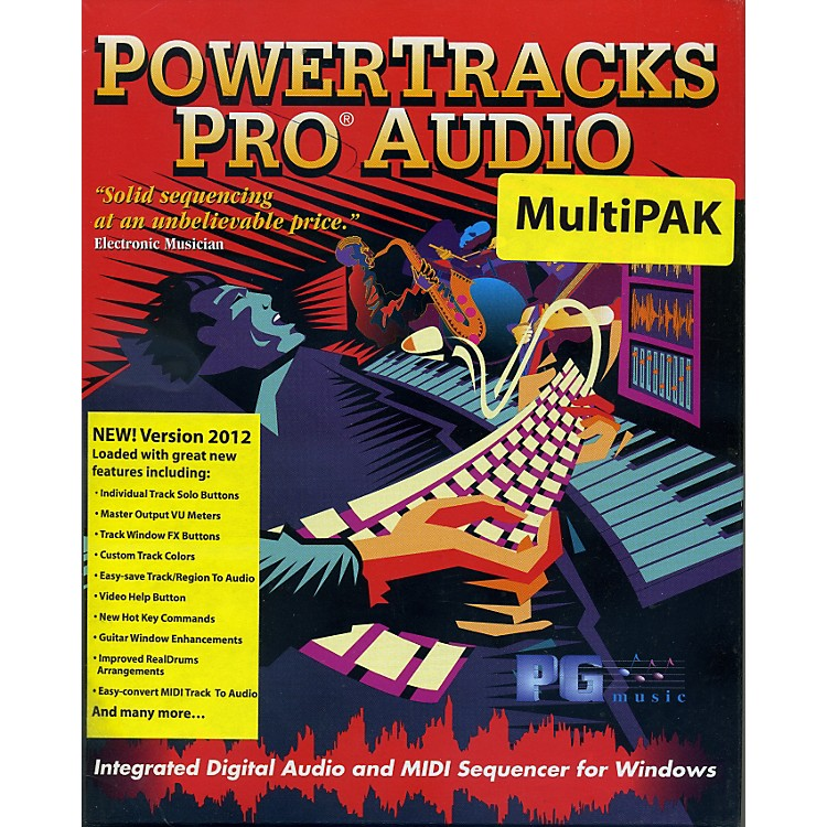 eMediaPowerTracks Pro Audio MultiPAK 2010