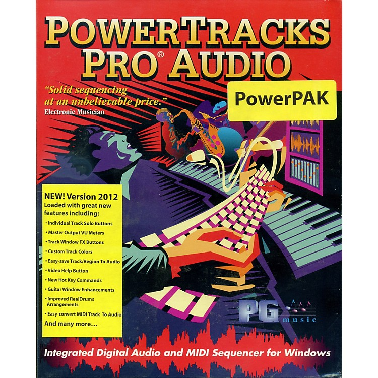 eMedia PowerTracks Pro Audio PowerPAK 2012