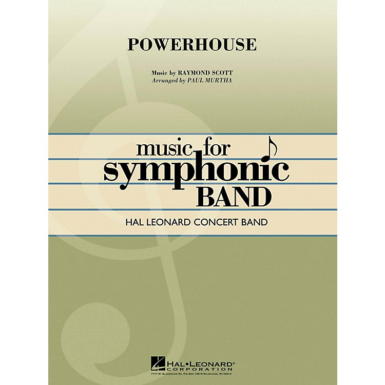 Hal LeonardPowerhouse - Hal Leonard Concert Band Series Level 4