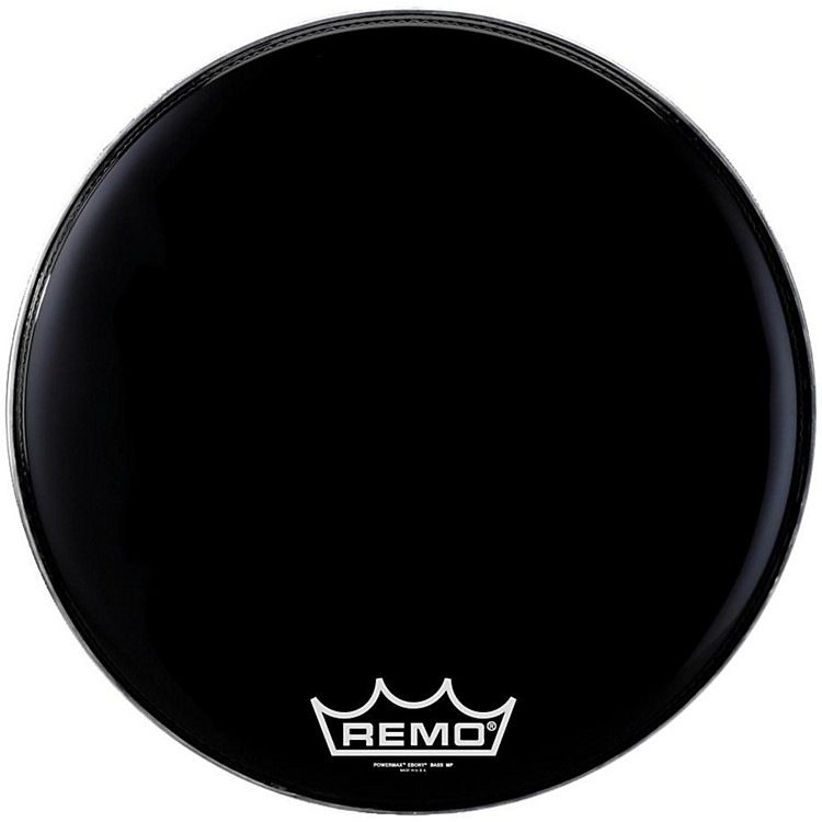 Remo Powermax Ebony Marching Bass Head 32 in.