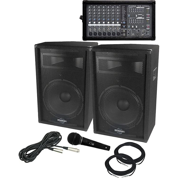 PhonicPowerpod 740 Plus / S715 PA Package