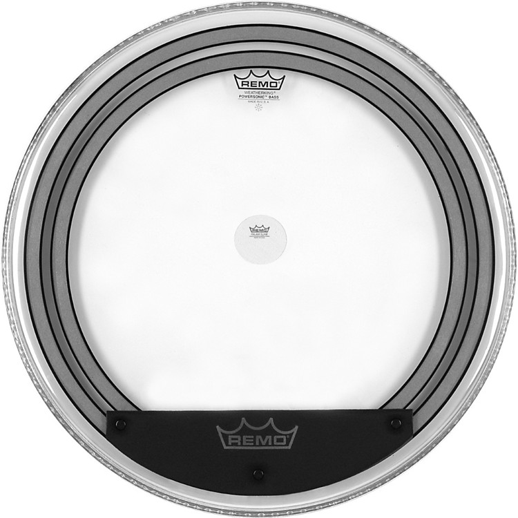 Remo Powersonic Clear Bass Drumhead 24 in.