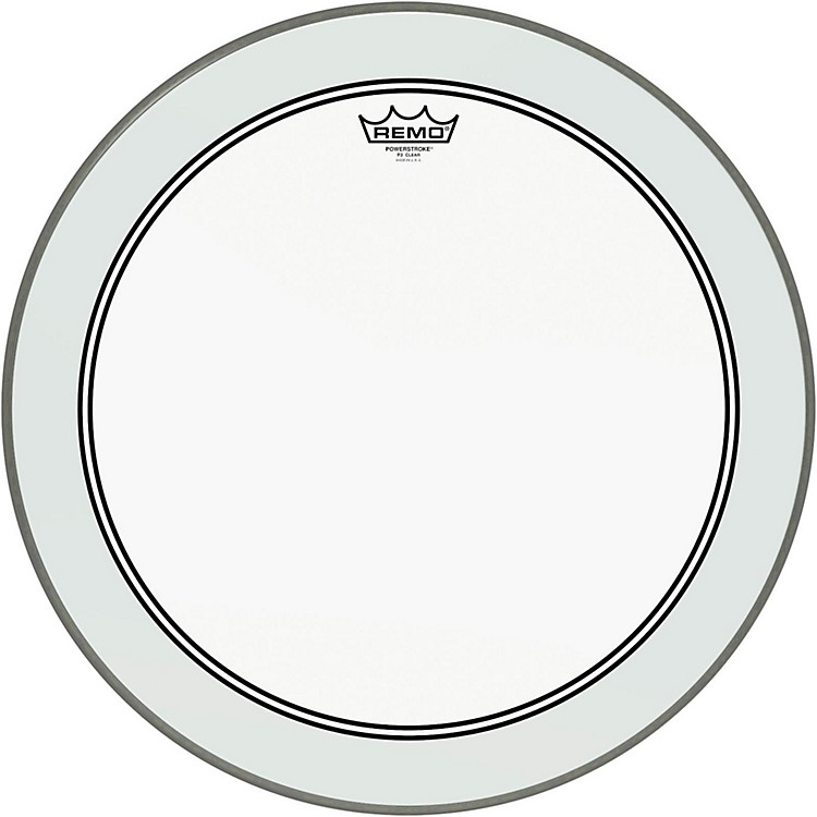 RemoPowerstroke 3 Clear Bass Drum Head with Impact Patch20 in.