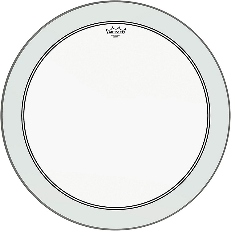 Remo Powerstroke 3 Clear Bass Drum Head with Impact Patch  28 in.