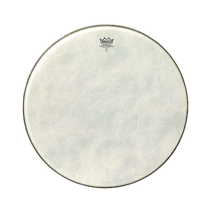 RemoPowerstroke 3 Simulated Calfskin Fiberskyn FA Bass Drumhead