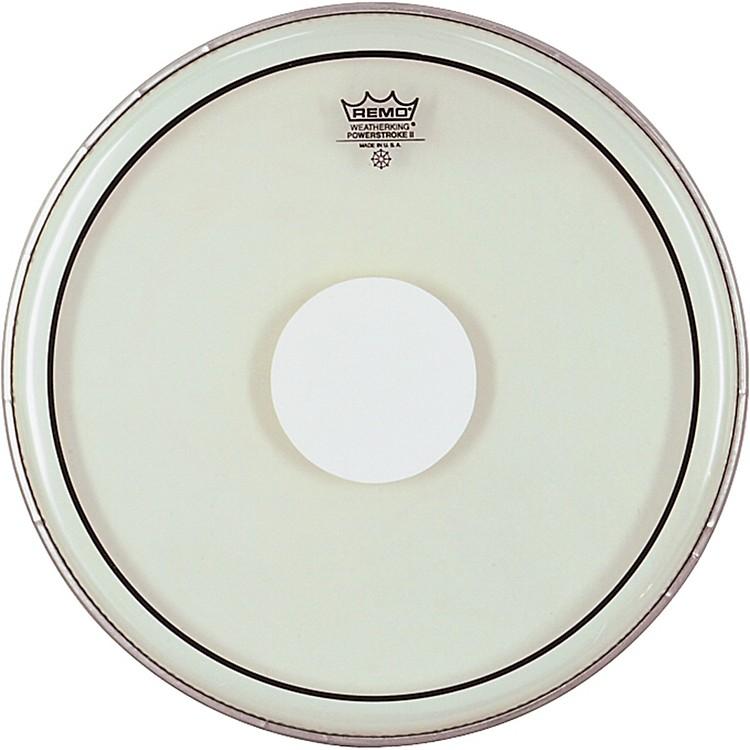 RemoPowerstroke II White Dot Single Ply Snare Batter Head13 in.