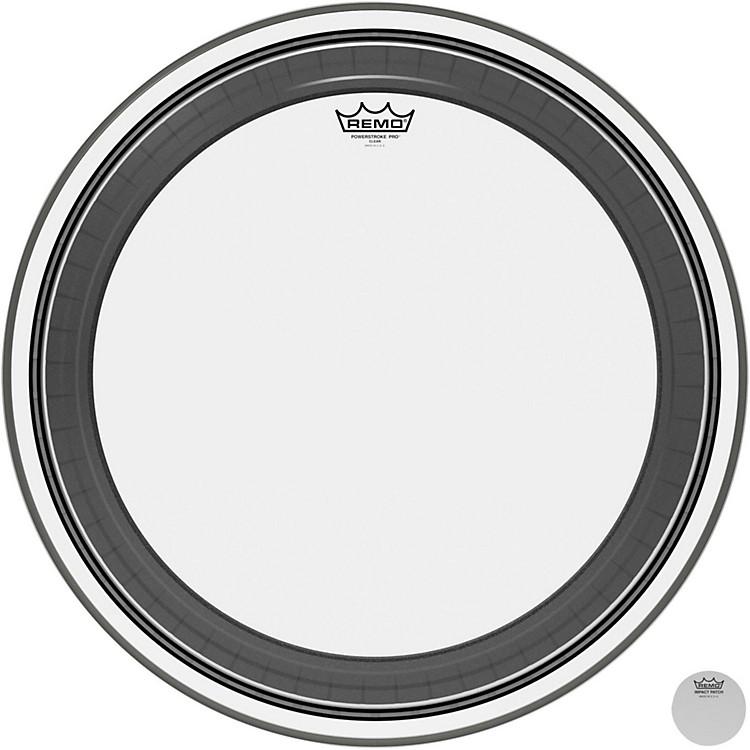 RemoPowerstroke Pro Bass Clear Drumhead24 in.