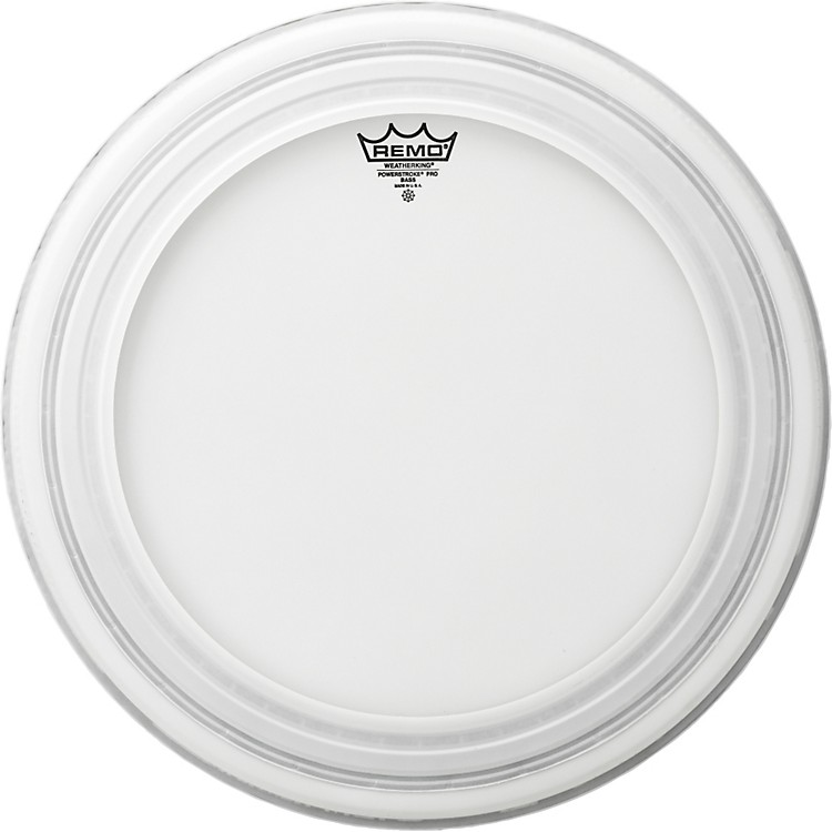 RemoPowerstroke Pro Bass Drumhead Coated24 in.