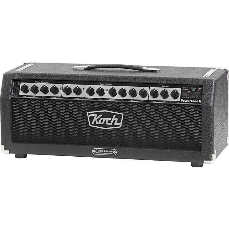 Koch Powertone II 6550 120W Tube Guitar Amp Head Black