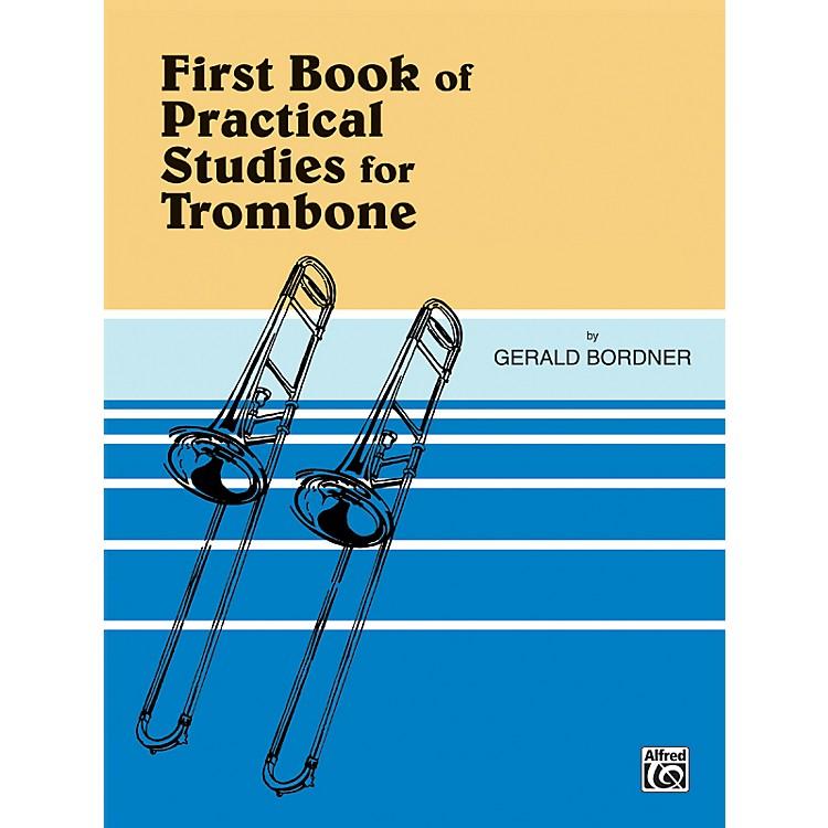 AlfredPractical Studies for Trombone Book I