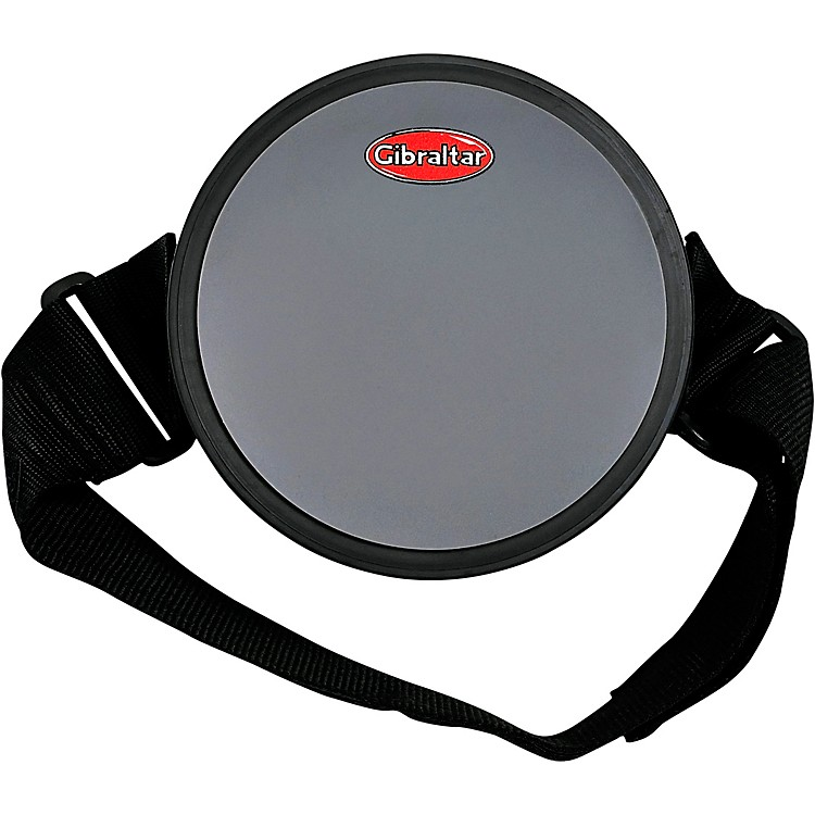 Gibraltar Practice Drum Pad with Leg Strap