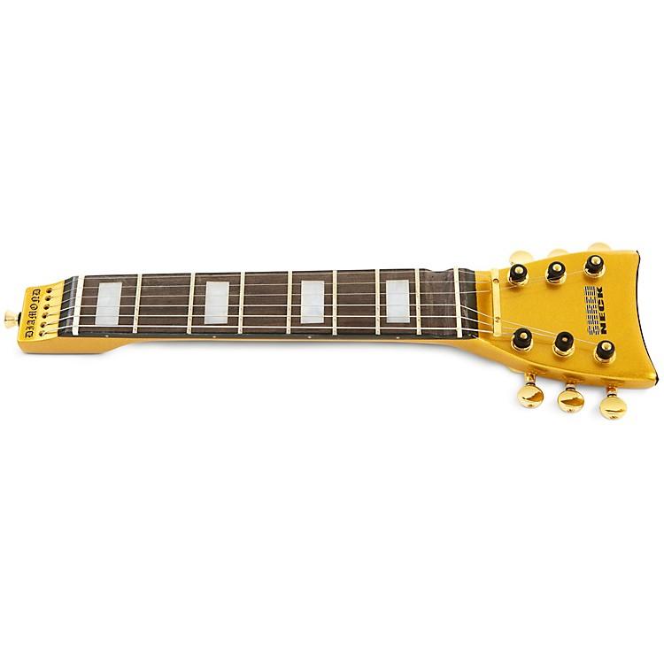 ShredneckPractice Guitar NeckGold Metal Flake