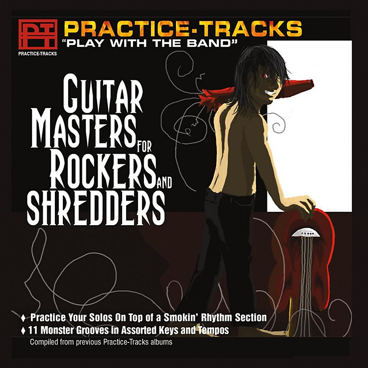 Practice Tracks Practice Tracks CD - Guitar Masters for Rockers and Shredders