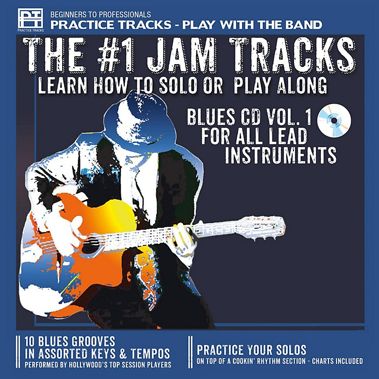 Practice TracksPractice Tracks CD for All Instruments Blues Vol. 1