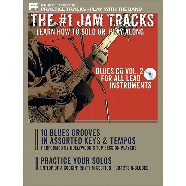 Practice TracksPractice Trax Blues Volume 2 for All Lead Instruments