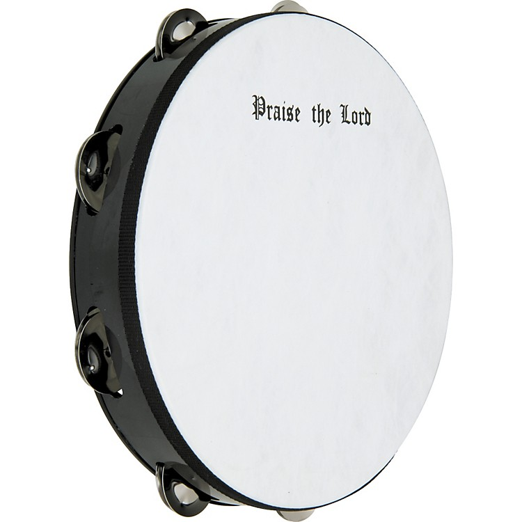 Rhythm Band Praise The Lord Tambourine 10 in., 8 Jingles