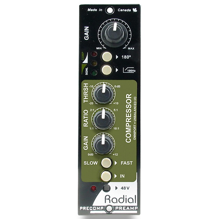 Radial EngineeringPreComp 500 Series Channel Strip
