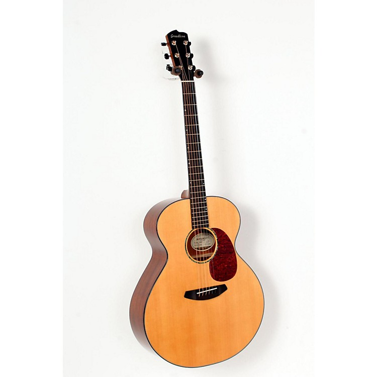 Breedlove Premier Jumbo Mahogany Acoustic-Electric Guitar Natural 888365671864