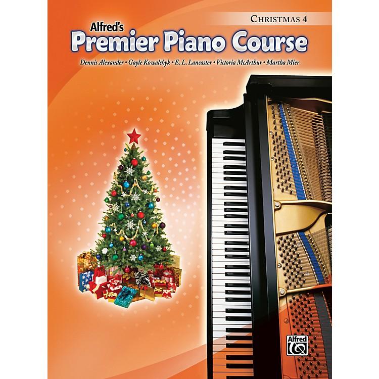 AlfredPremier Piano Course Christmas Book 4